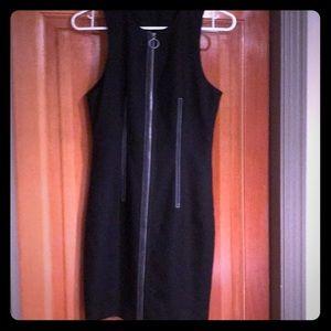 Alexander Wang Dresses - Alexander Wang black zip up dress